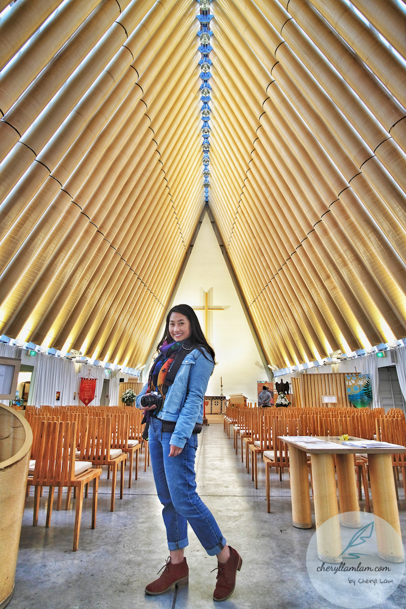 Cardboard Cathedral Christchurch NZ