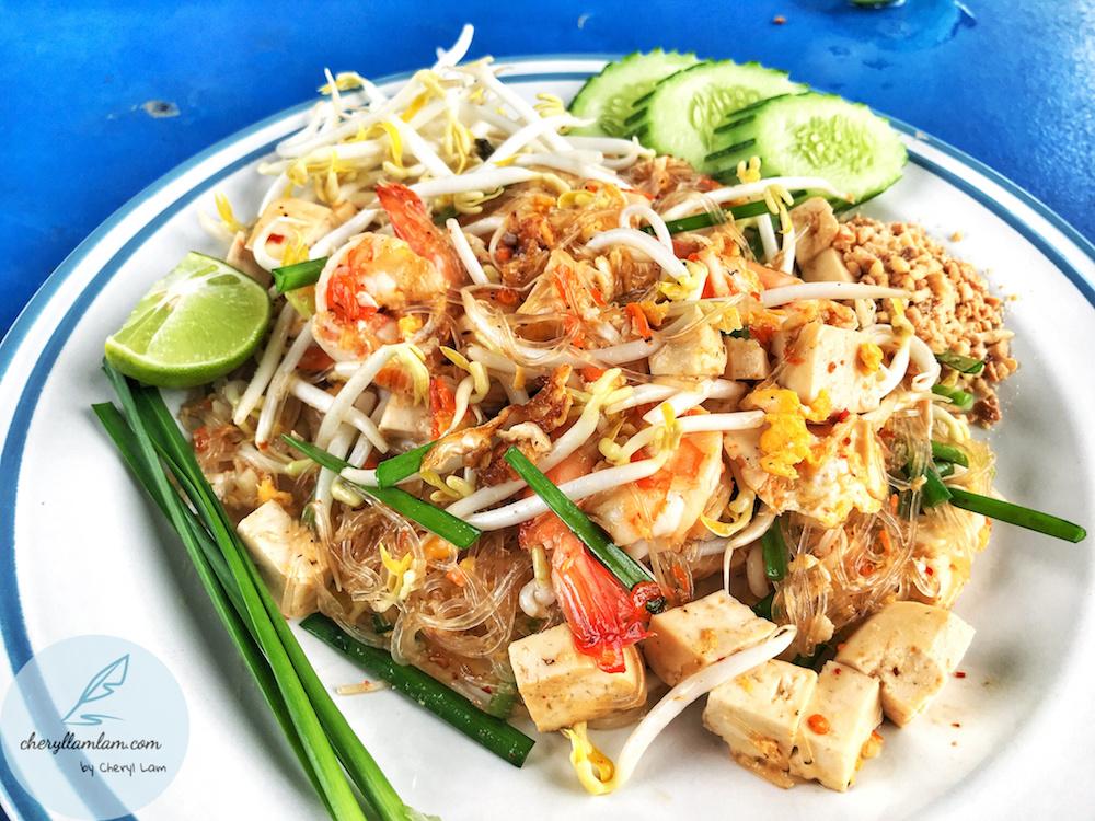 Pad thai in tang hoon