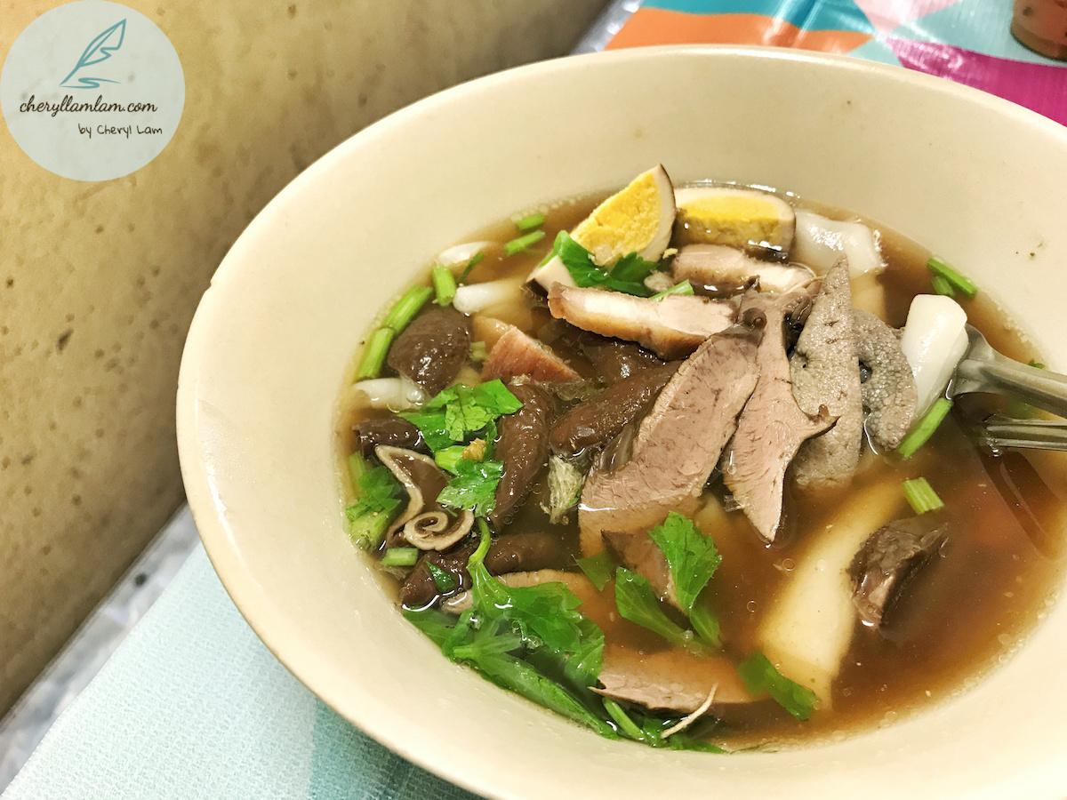 Thai pork koay chiap