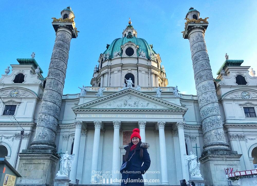 St. Charles Church Karlskirche Vienna Austria