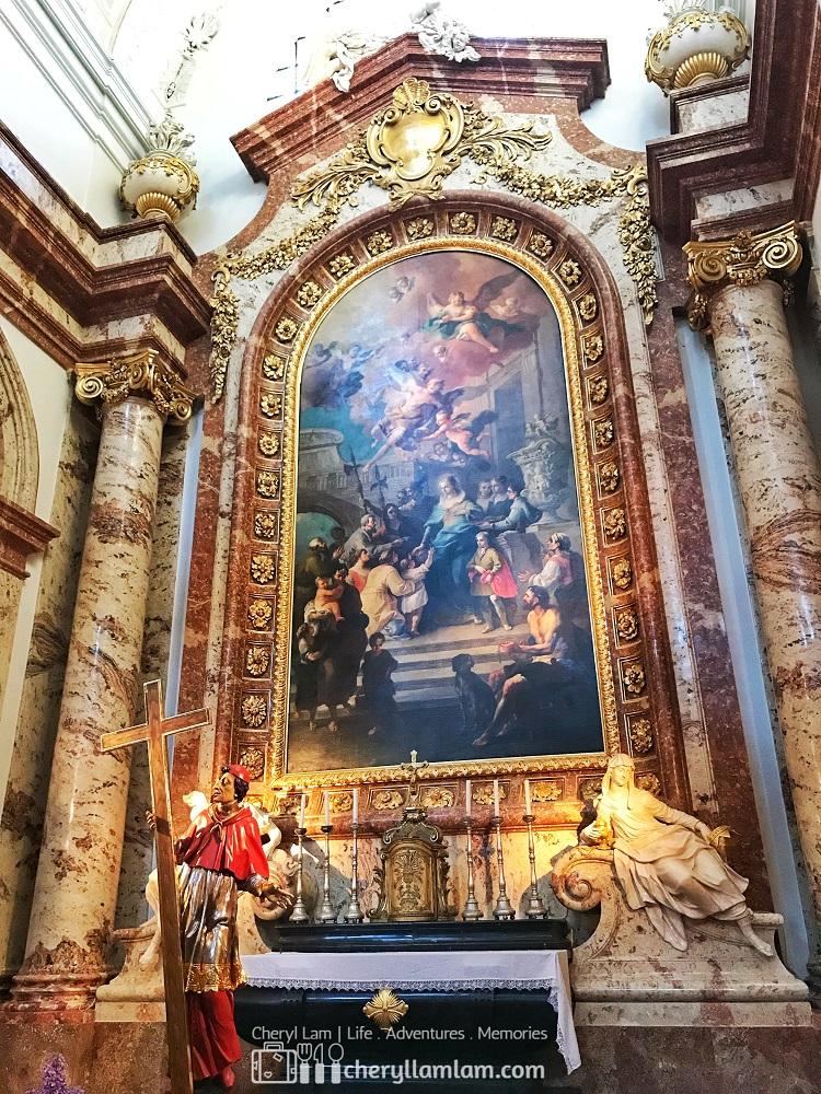 Interior of the church (i)