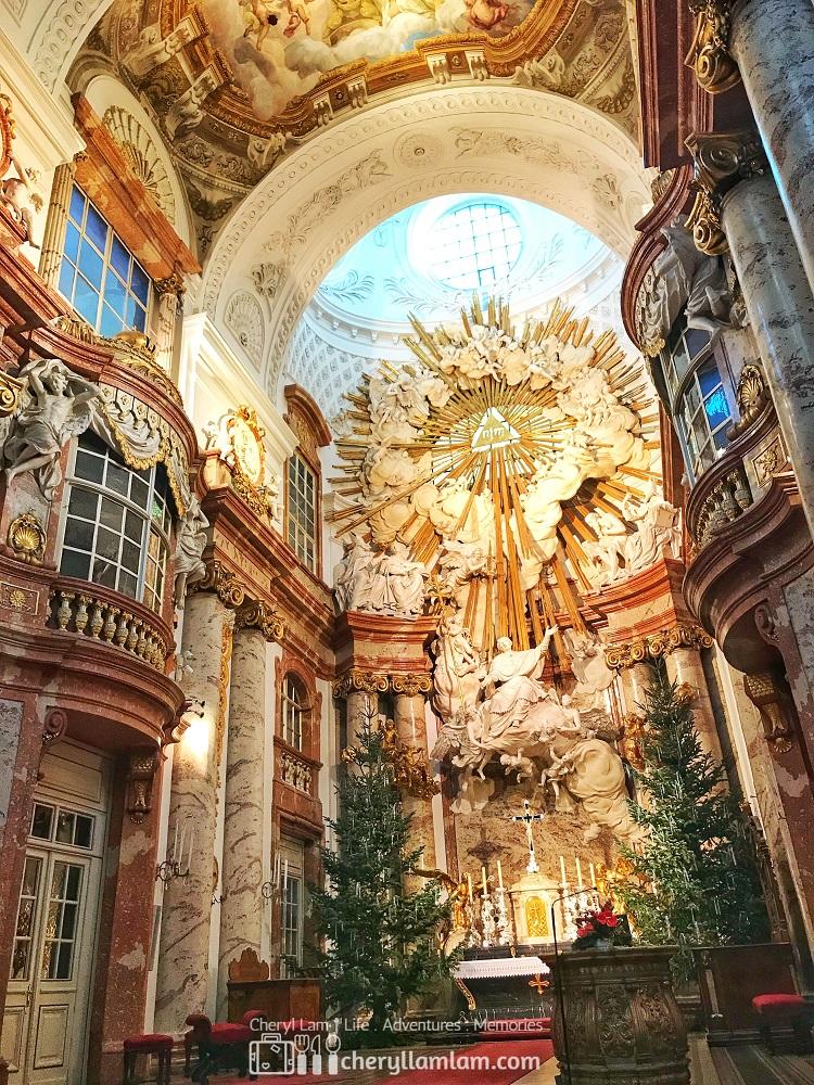 Interior of the church (ii)