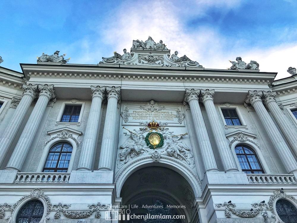 Hofburg Imperial Palace Vienna Austria