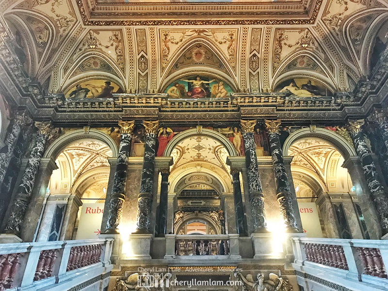 Majestic interior of the museum