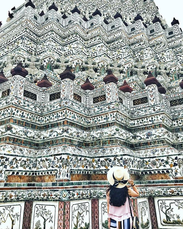 Look up, always. Look back, never. 😉 #cheryllamtravels #cheryllaminbkk • • • • • • • • #travelgram #travelblogger #travelporn #traveldiary #travelinstyle #travelstoke #travelbug #travelig #travelgirlsgo #travelphotography #amazingthailand #discoverbangkok #wanderlust #worlderlust #watarun #bangkok #lovetotravel #explorerbabes #girlslovetravel #dametraveler #darlingescapes #thetravelwomen #throwback #beautifuldestinations #world #unescoworldheritage