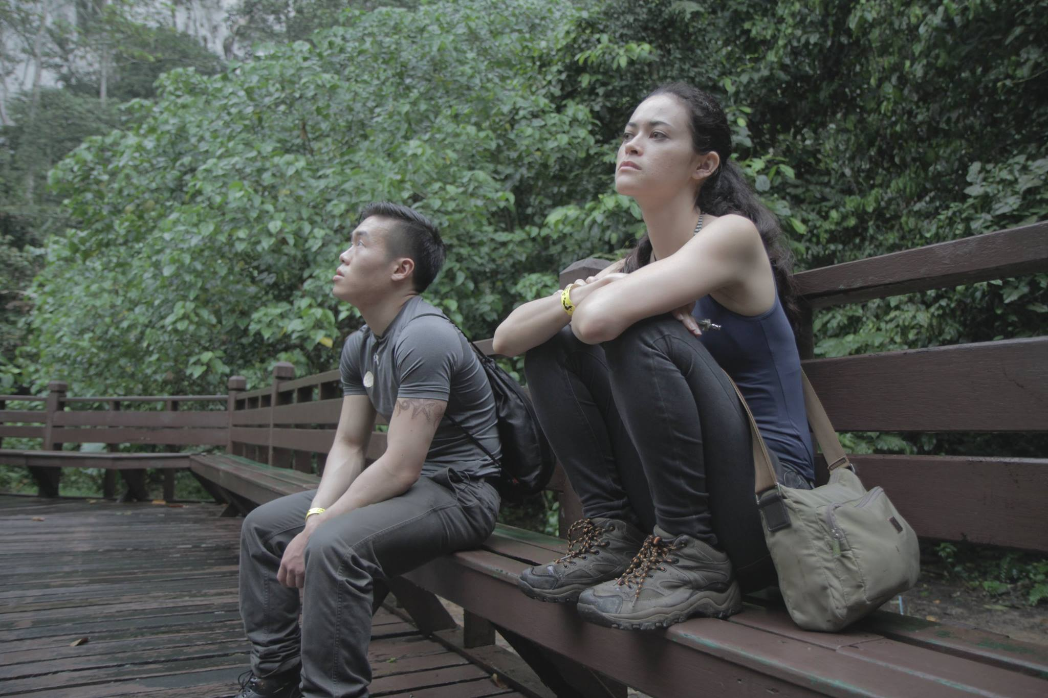 Kan Lume /Singapore / 2015 / English / 16min   Two actors travel to Malaysia to make a film. Instead of seeing them in conventional scenes, we see them in-between takes. They complain and irritate each other, discuss the lack of familial support and experience the difficulties of being on an independent film shoot. There are two characters in the film – a young, enthusiastic actor and an experienced, world-weary actress. Their differences may be the result of chance rather than choice.   Director: Kan Lumé's debut feature film The Art of Flirting won Best ASEAN Feature at Malaysian Video Awards 2005. Second feature Solos won the Best Newcomer Award at Torino GLBT Film Festival 2007. Third film Dreams from the Third World received the MovieMax Award at Cinema Digital Seoul 2008. Liberta picked up Special Mention at Cinema Digital Seoul 2012 and the NETPAC Award at Tripoli Film Festival 2013. His latest film The Naked DJ earned Kan his second NETPAC award for Best Asian Film at Jogja-Netpac Asian Film Festival 2014.