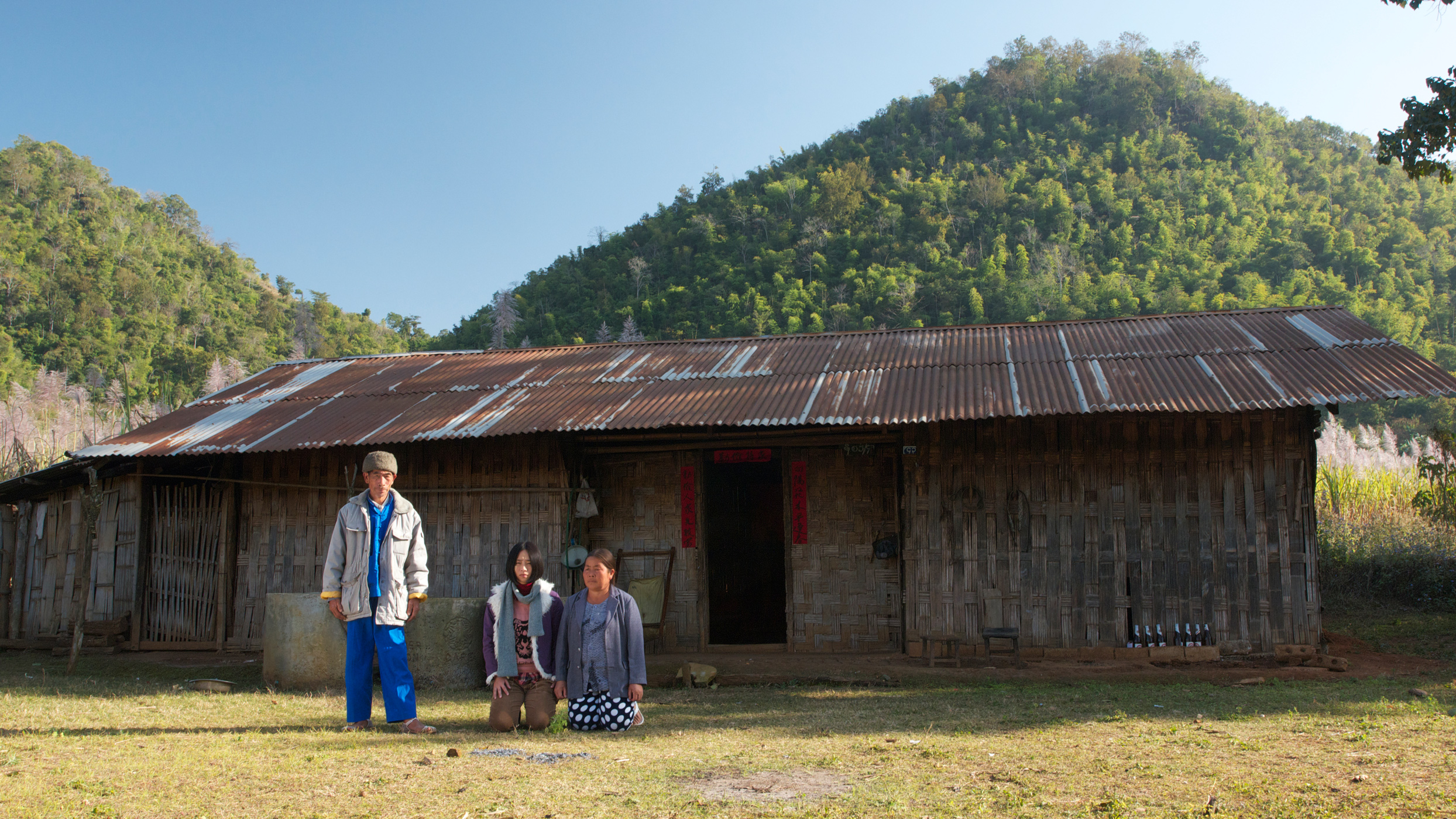 Midi Zhao / Myanmar / 2013 / 14min   In a village in Myanmar, Midi Z portray the end of life of a grandfather, with the nolstagic of a homeland came in a symbol of BURIAL CLOTHES.   Director: Midi Z born in Myanmar,trained as an artist in Taiwan. In 2011 Midi made his first feature, Return to Burma, which screened at the Rotterdam Tiger Competition and Busan New Currents Competition. His latest feature, Ice Poison, premiered at the 2014 Berlinale, winning Best Film at Edinburgh International Film Festival.