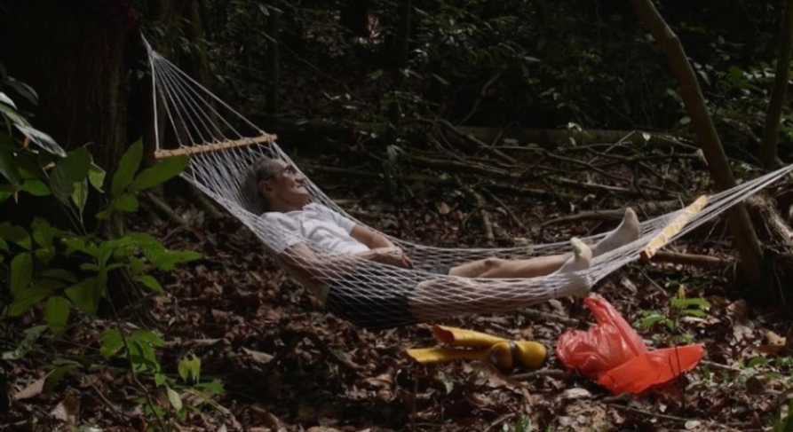 """Khym Fong / Singapore / 2016 / Malay / 9min   Mao Shan Wang chronicles a day in a durian """"hunter""""'s life. He wanders in the forest, cooks, and eats. What more is there? Audiences are left to ponder the significance of his many rituals.   Director: Khym Fong is an 18 year old graduate from School of The Arts, Singapore. Mao Shan Wang is her first short film, which she made in collaboration with her school mates."""