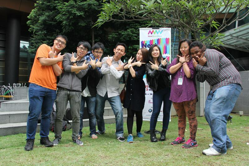 Group X participants of 1st Young Filmmakers Workshop.