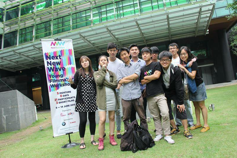 Group Z participants of 1st Young Filmmakers Workshop.