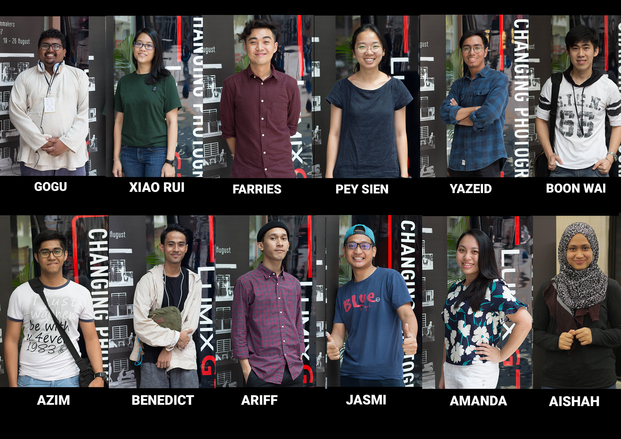 The selected participants of 3rd Young Filmmakers Workshop
