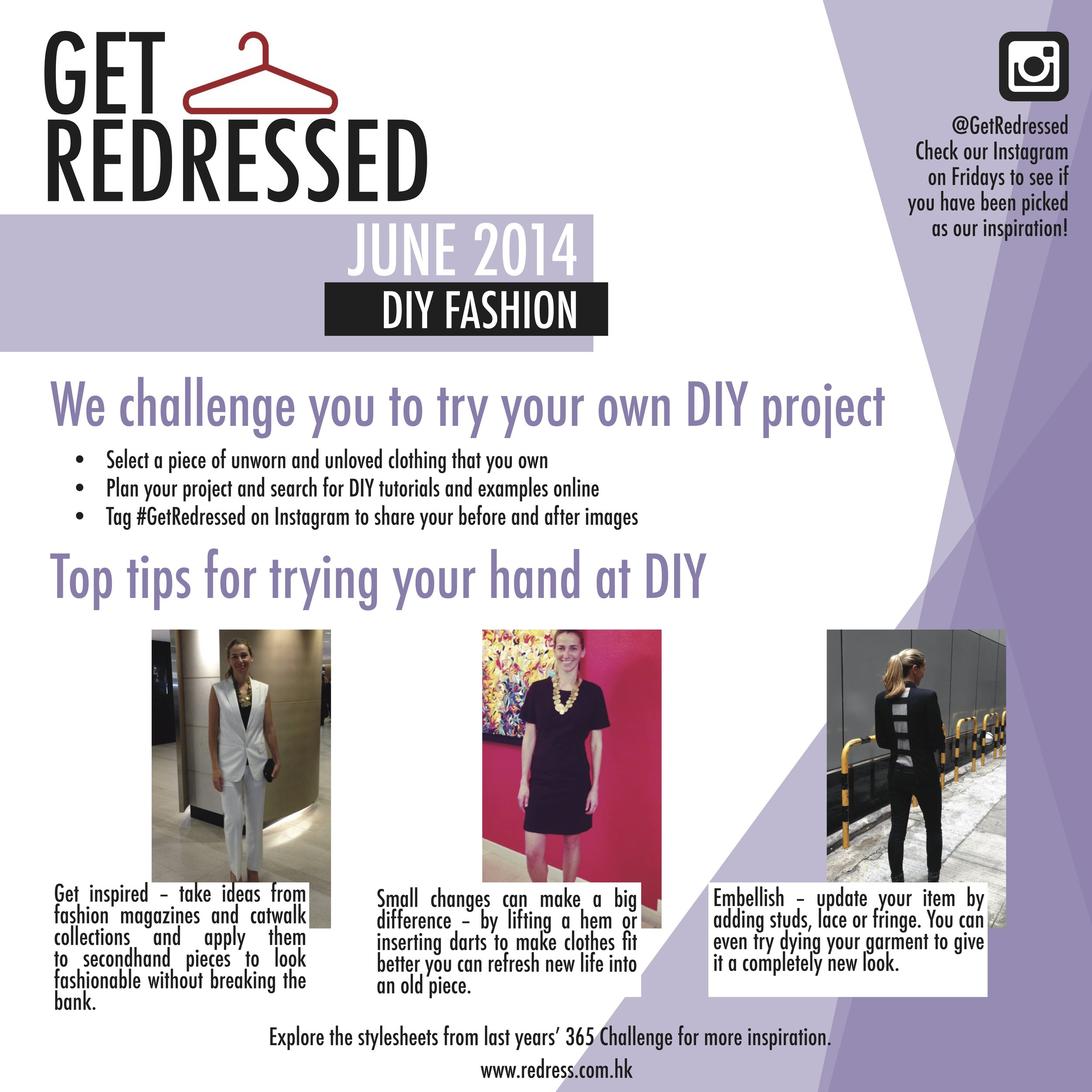 June: DIY Fashion