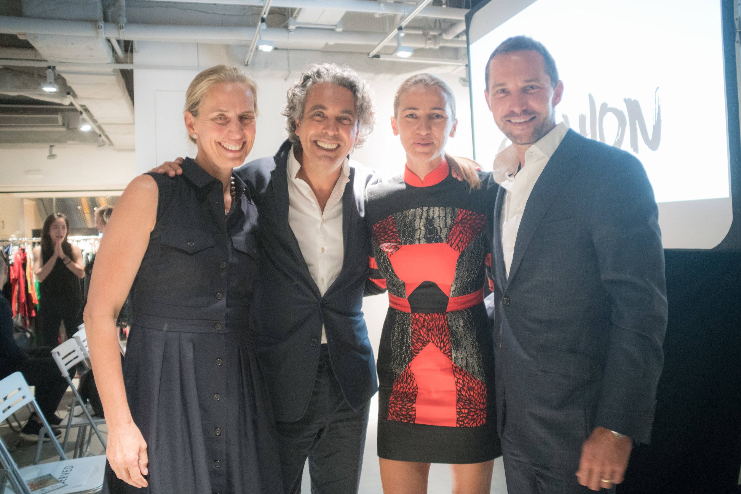 Lisa Genasci, Raphael le Masne de Chermont , Christina Dean, Christian Brun.jpg
