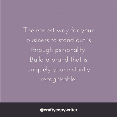 Build brand personality