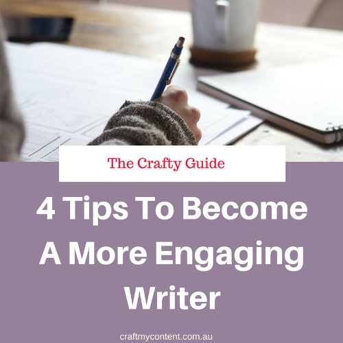 4 Tips to Become an Engaging Writer