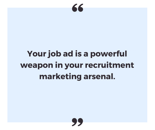 Job ads are a marketing weapon - Craft My Content