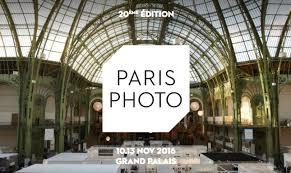 Paris Photo Fair 2016 at Le Grand Palais Paris