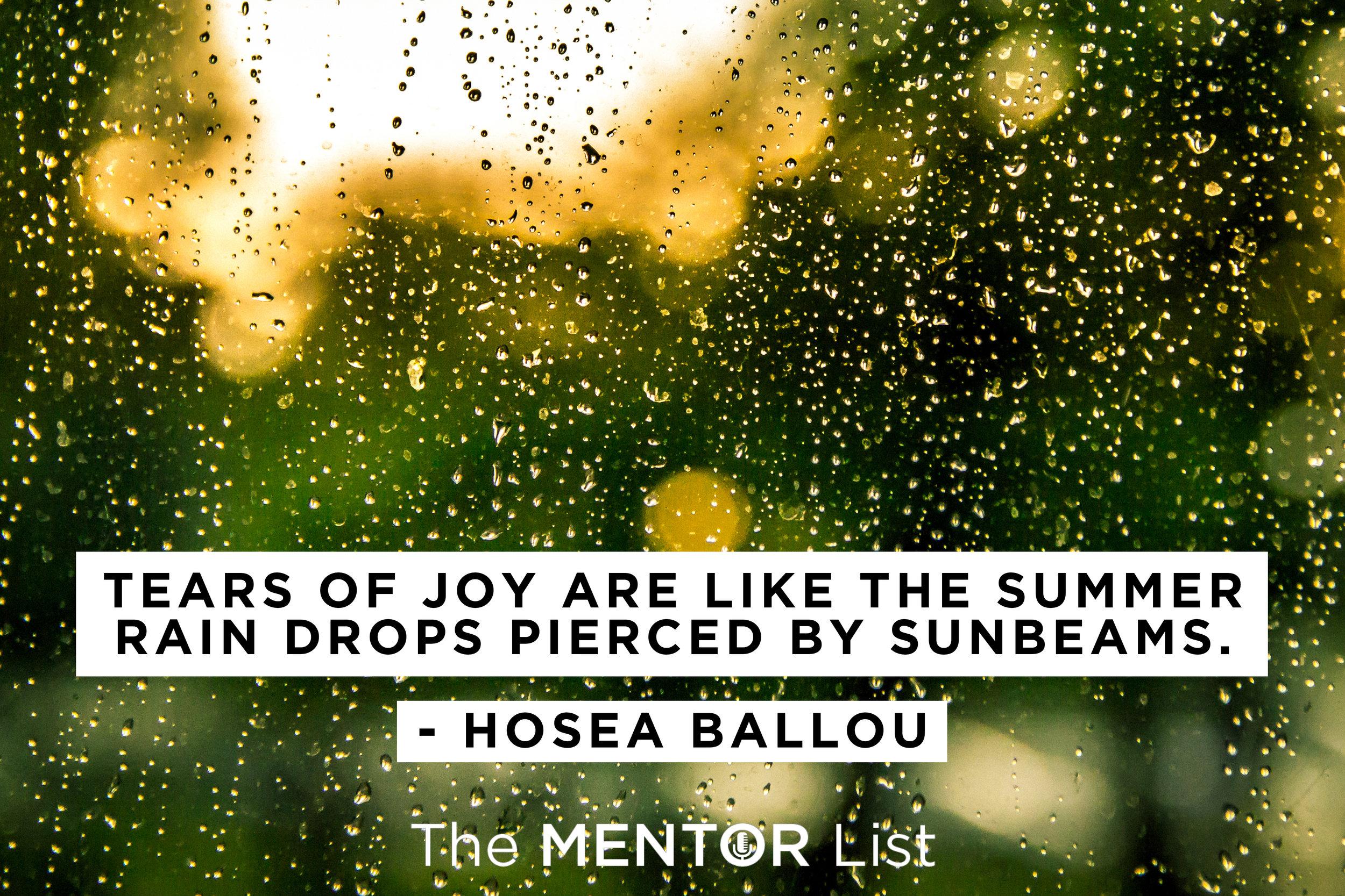 The Mentor List