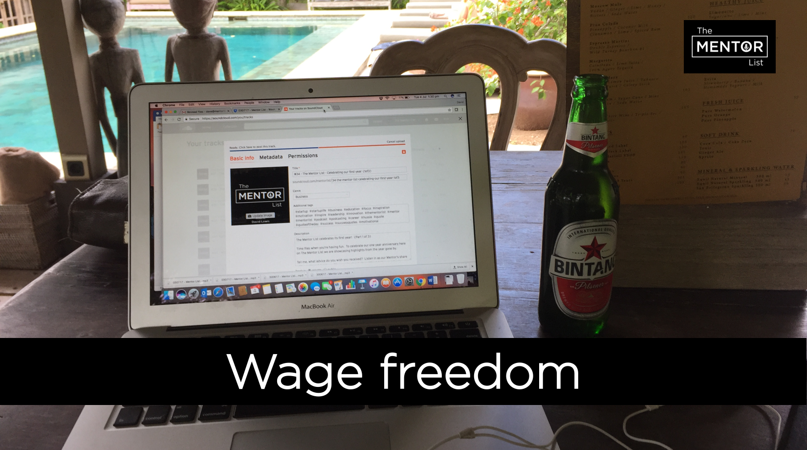 The Mentor List Podcast - Tom Mullaly - Wage Freedom