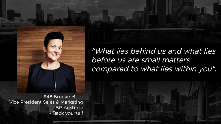 Brooke Miller - Vice President Sales & Marketing BP Australia
