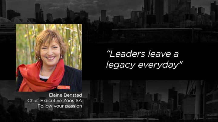Elaine Bensted - Chief Executive Zoos SA