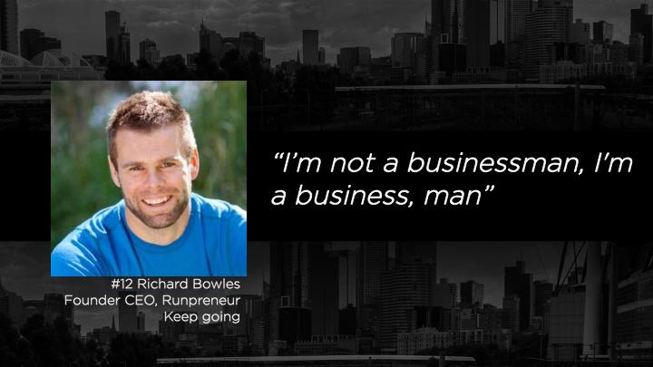 Richard Bowles, Founder CEO - Runpreneur
