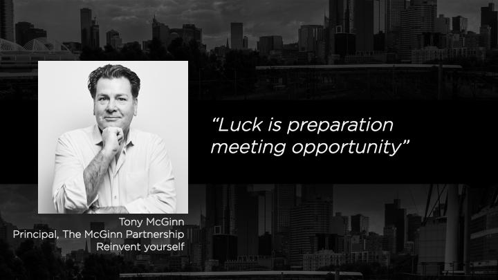 Tony McGinn, Principal - The McGinn Partnership
