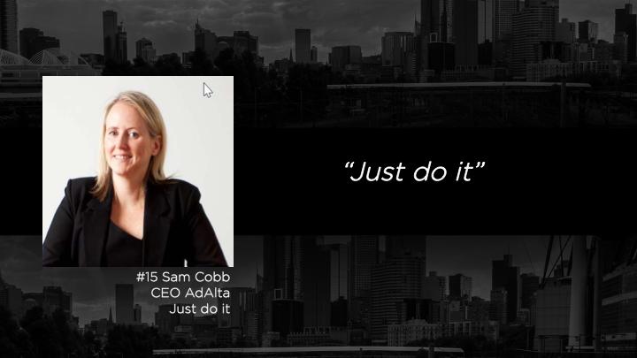 Sam Cobb - CEO, Adalta