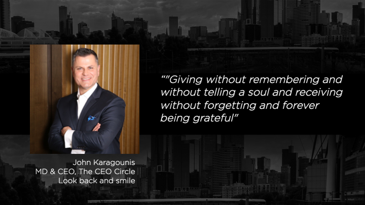 John Karagounis- MD & CEO, The CEO Circle