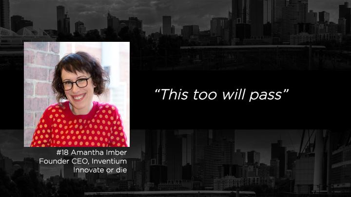 Amantha Imber  Founder CEO, Inventium