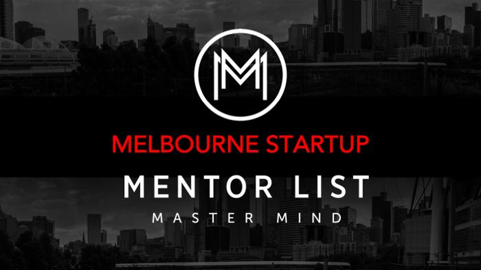 Melbourne Startup group begins July 2019