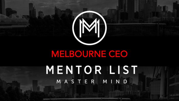Melbourne CEO group begins October 2019