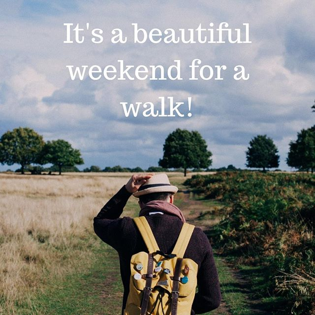 Take advantage of the warm September weekend by getting out and being active! #PreventingType2 #IndianSummer #StayingActive #type2diabetes #T2D #diabetes #KeepingFit #weekend #walking #PreventDiabetes #nujjer