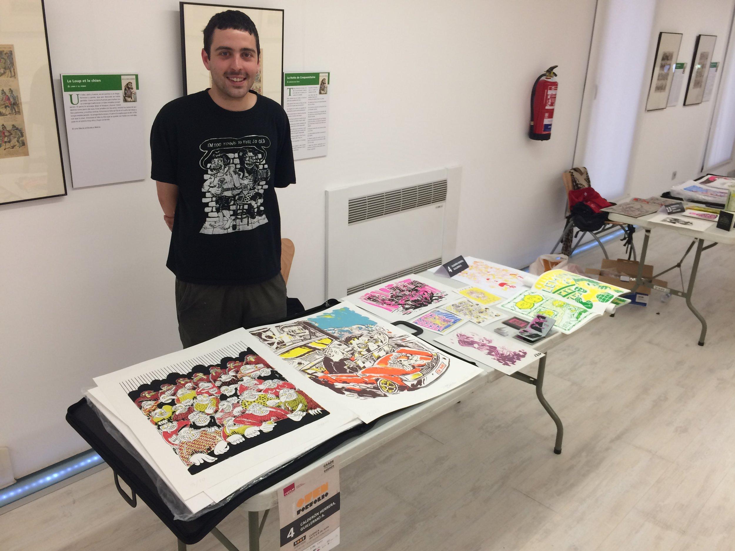 Nuestro artista Guillermín