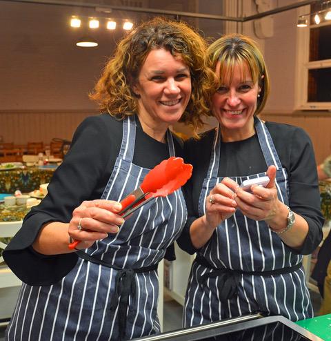 2016 winners - Dawn Roberts and Kay Cadman