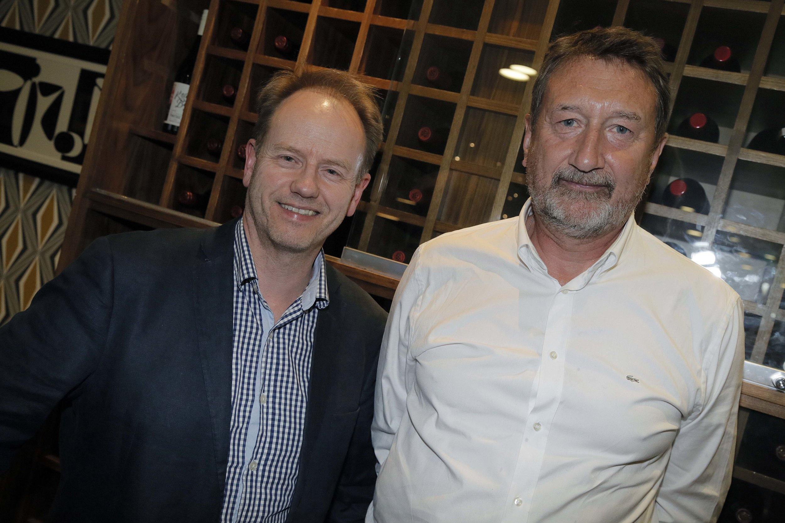 Birmingham Mail's Graham Young with Steven Knight.jpg