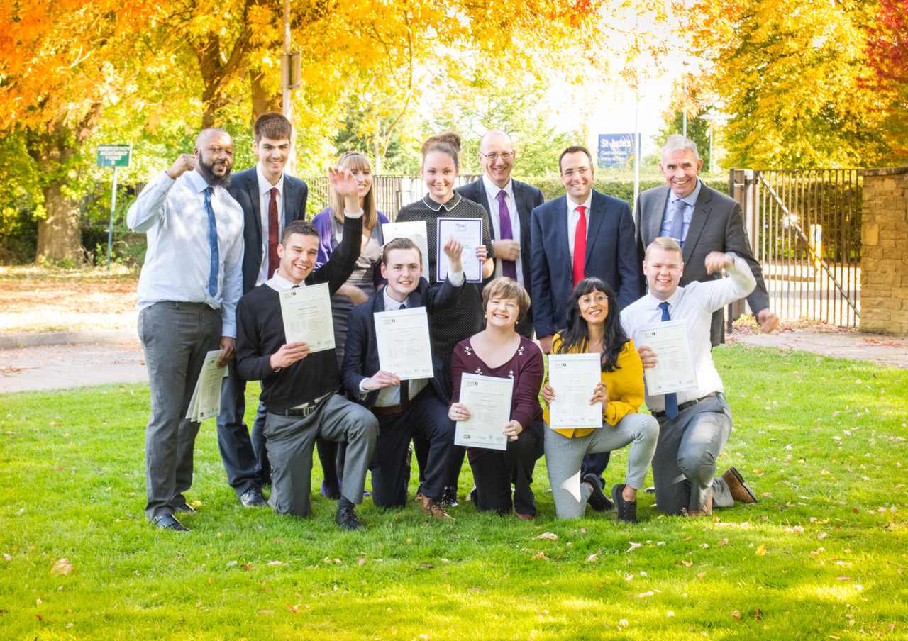 Successful students from the City of Wolverhampton College
