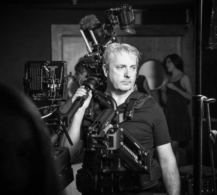 David Crute - Director of Photography - David is an experienced DoP, Steadicam operator and aerial cinematographer with over 25 years experience in the film and television industry. He has worked on films, television dramas, commercials, music videos, documentaries and corporate productions. David also lectures at the NTFS and and is a course leader for Steadicam courses and workshops.