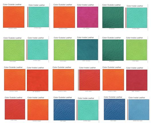 VDS custom planner: color combination brainstorming