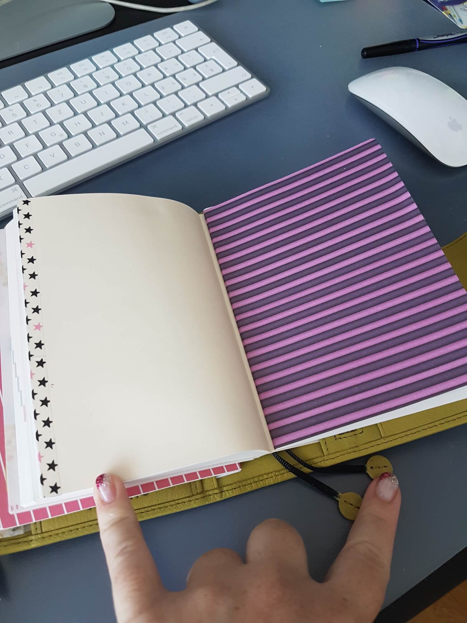 July 17, 2017 How To Save The Paper From A Partial Unused Hobonichi