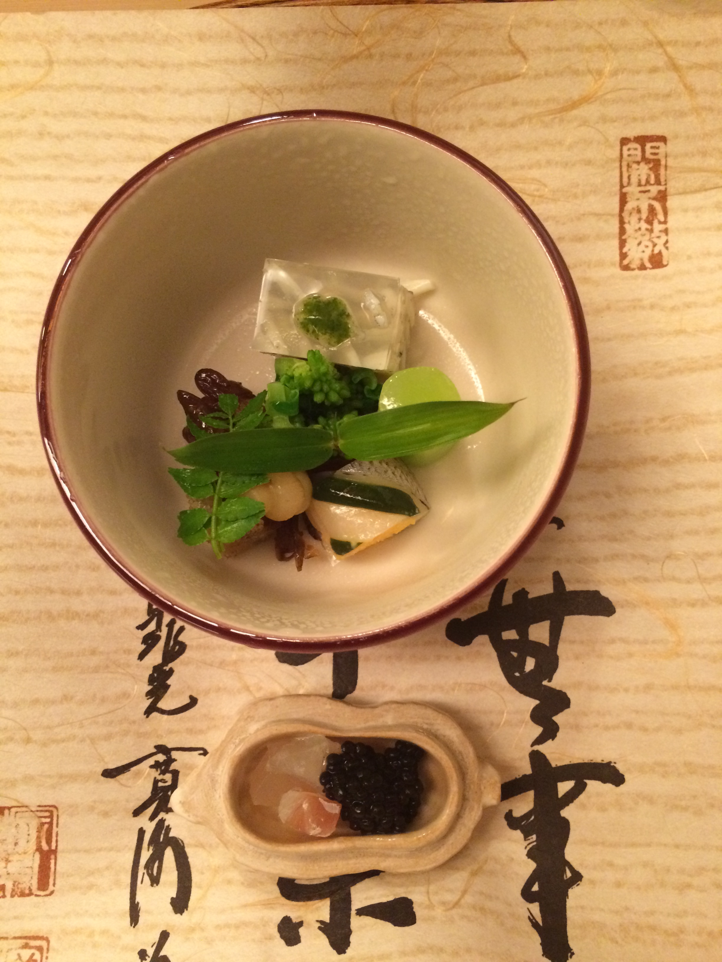 traditional Kaiseki at Kichisen
