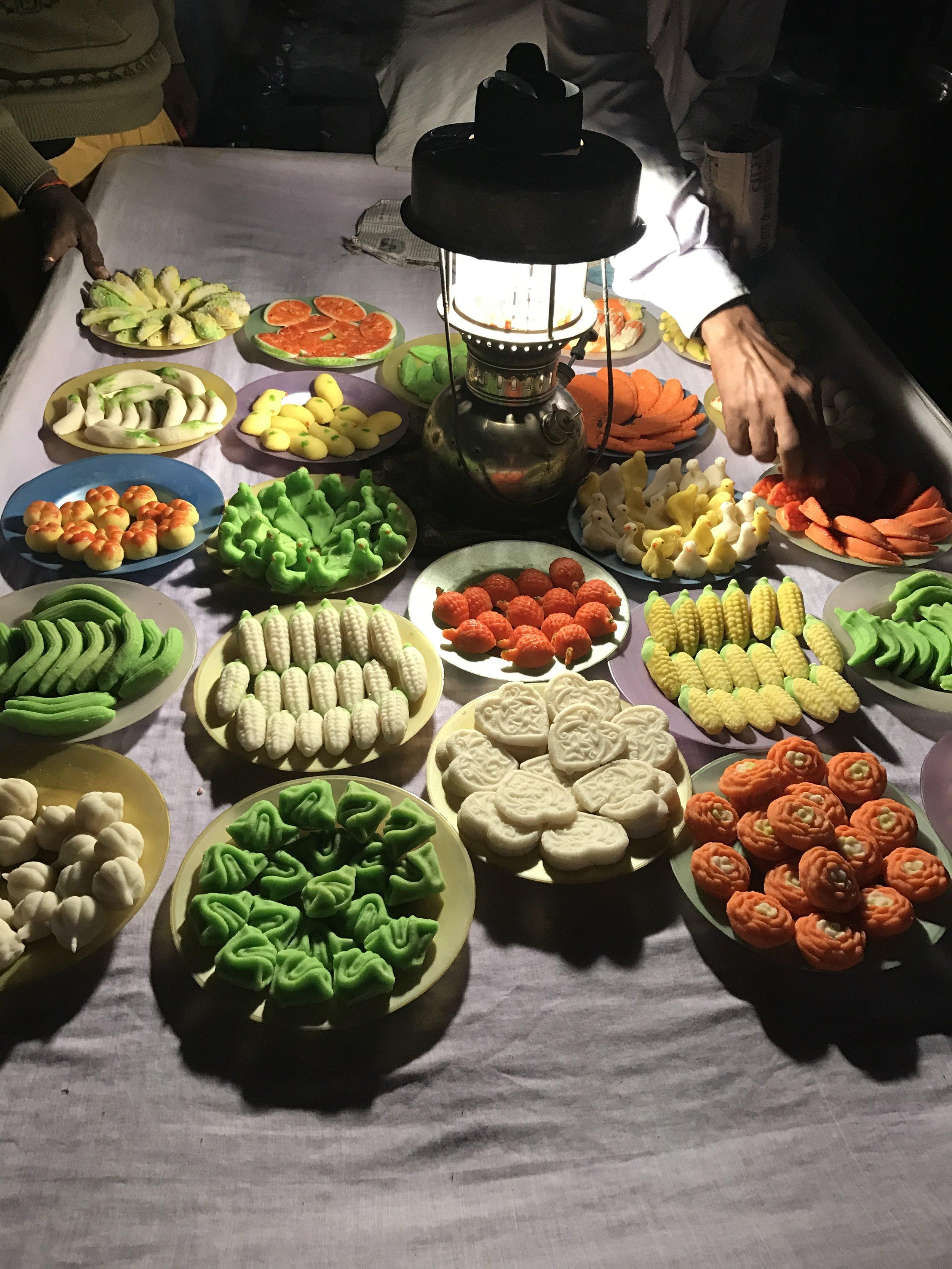 Varanasi milk candies