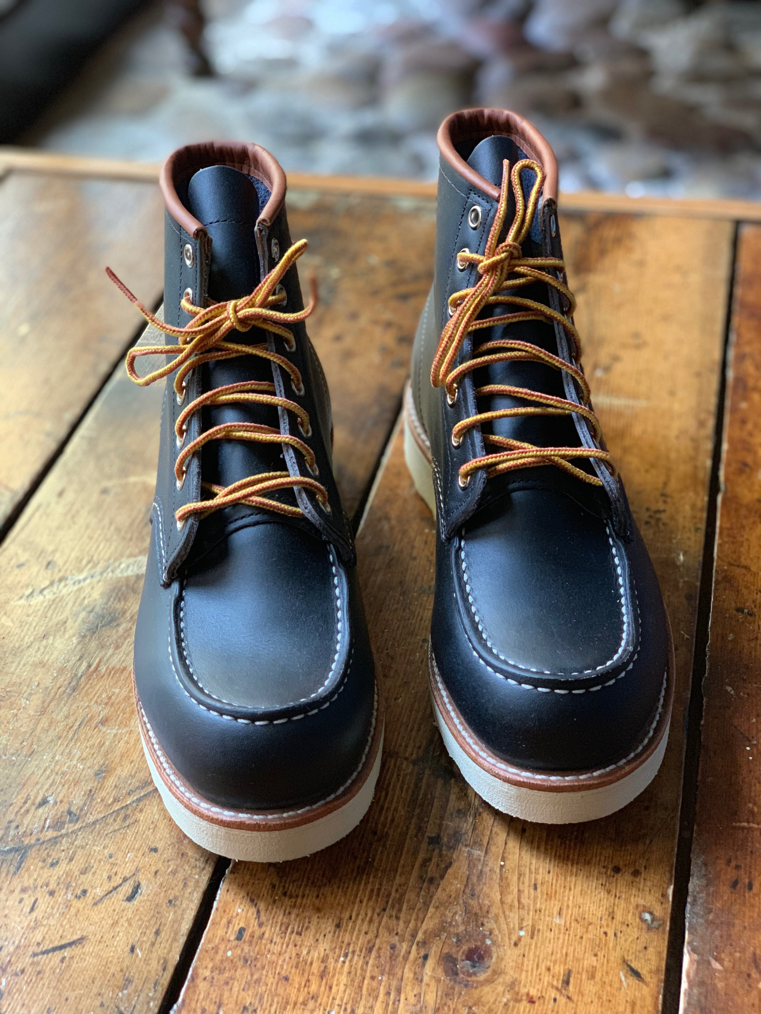 Red WIng Moc Toe - 8859 - Navy Portage