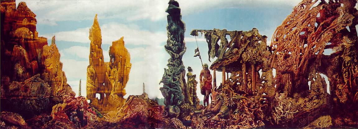 Europe After the Rain II by Max Ernst
