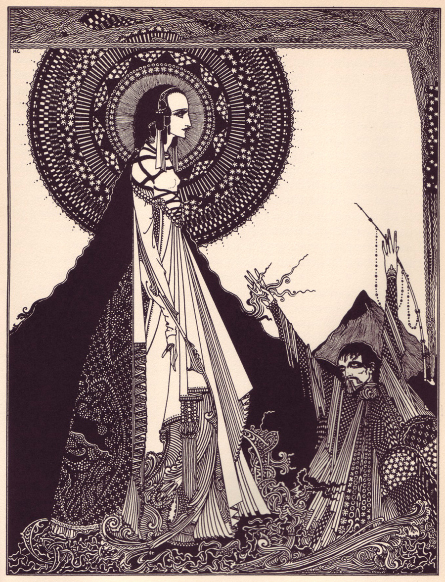 From: Tales and Mystery of Imagination by Poe, Illustrated by Harry Clarke