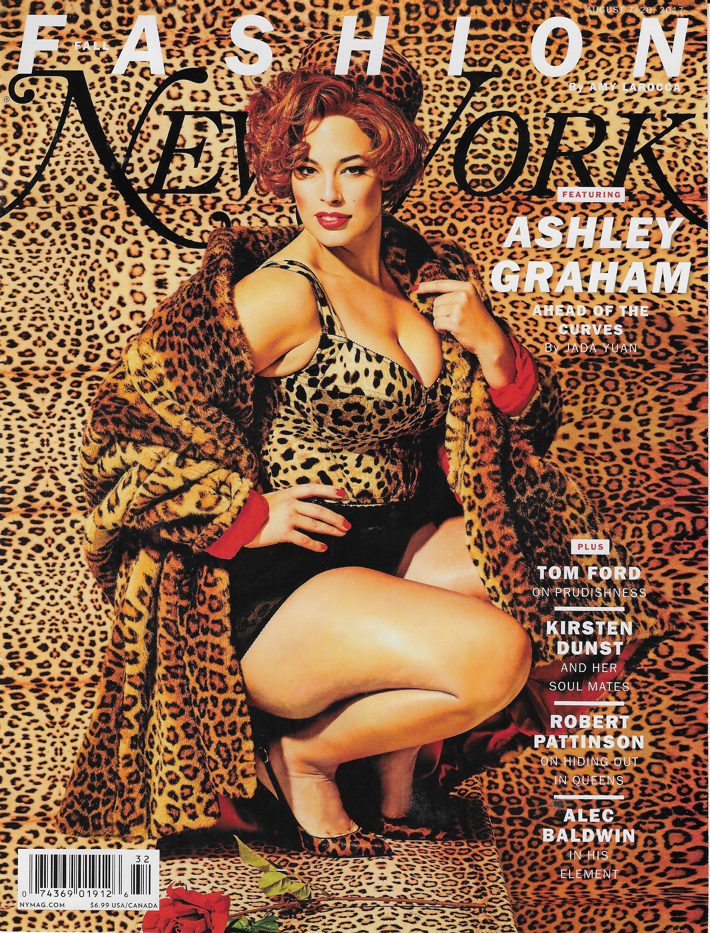 New York Magazine / Maurizio Cattelan / Ashley Graham
