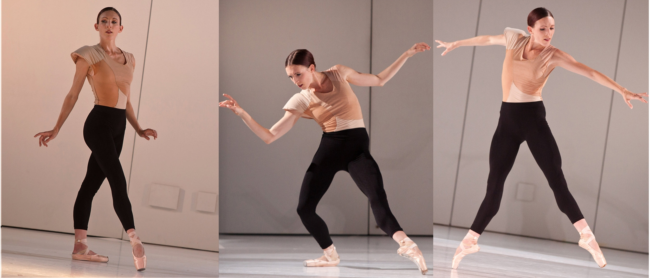 "2011 Collaboration with choreographer Emery LeCrone and Avi  Scher for ""Works and Process"" at the Guggenheim Muesum"