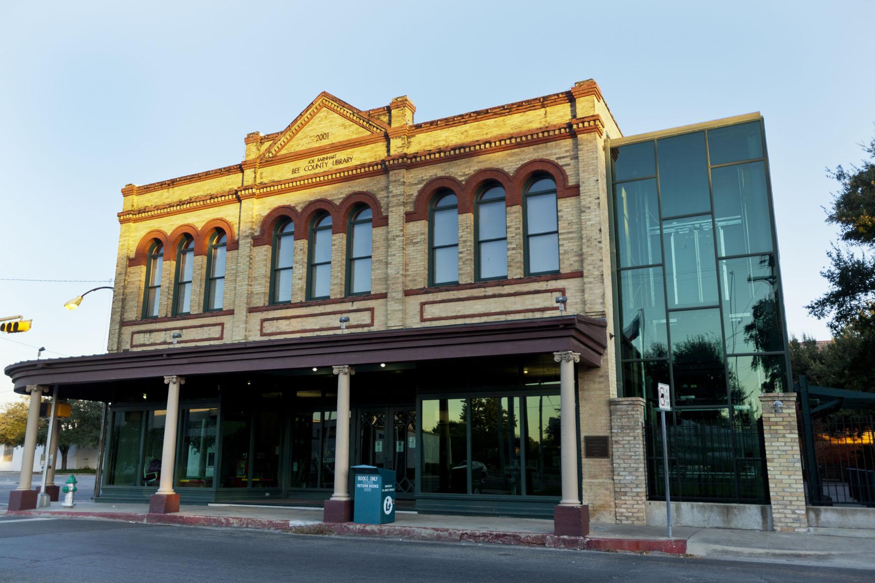 Joe Barnhart Bee County Library.jpg
