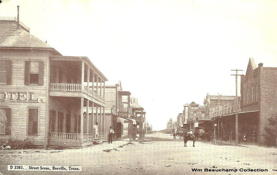 Early Washington Street Scene. Courtesy of William Beauchamp