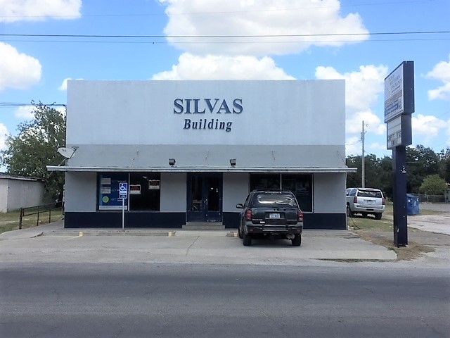 Silvas Building, 410 N. St. Mary's. Facade Grant After Photo August 2018.jpg